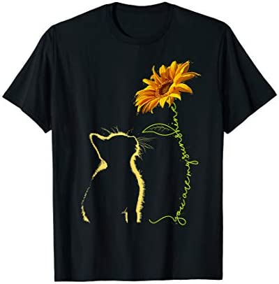Cat You Are My Sunshine T Shirt Cats Tee Shirt Gifts product image