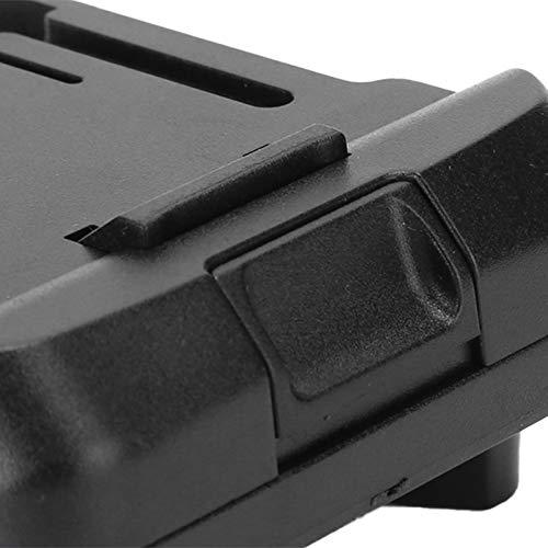 Adaptador de carregador de ferramenta Adaptador de bateria fácil de transportar durável Preto Office para bateria da série 20v Bateria da série 18V Página inicial