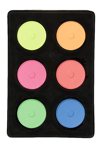 Jack Richeson Mini Tempera Fluorescent 6 Color Set