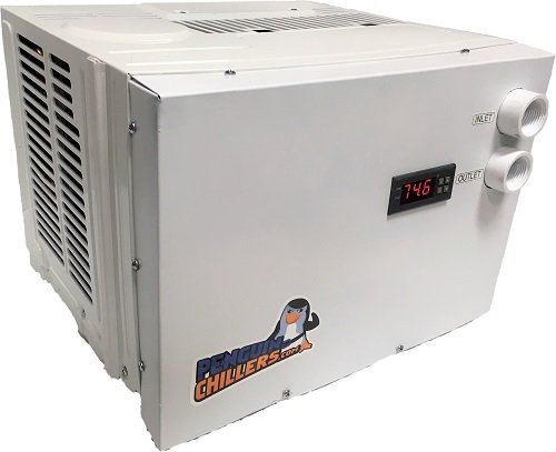 1/2HP Penguin Chillers - Water Chiller (0.25 Hp Water Chiller)
