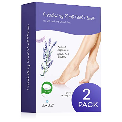 2 Pairs Foot Peel Mask Exfoliant for Soft Feet in 1-2 Weeks $19.50(51% Off)