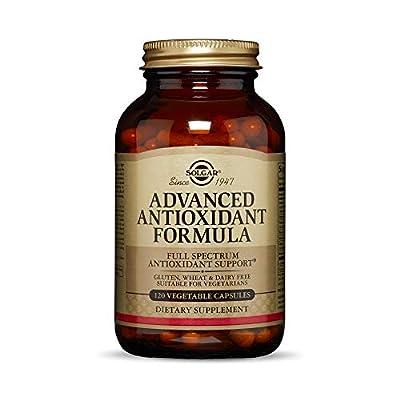 Solgar - Advanced Antioxidant Formula, 120 Vegetable Capsules