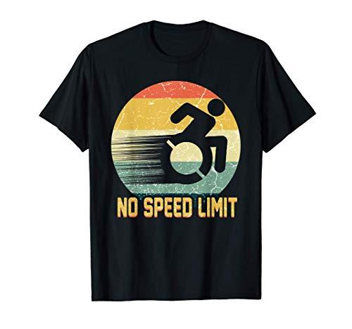 Rollstuhl Humor Behinderung Handicap Rollstuhlfahrer T-Shirt