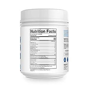 Hydrolyzed Collagen Powder + Probiotics by Dr Colbert - Non GMO Chicken & Marine Collagen - Type I, II & III Collagen - Unflavoured - 570 grams - 30 Servings