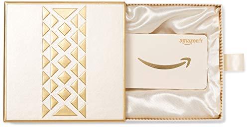 Carte cadeau Amazon.fr - Coffret Cadeau Doré