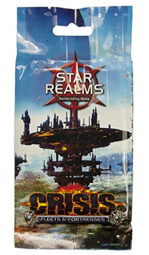 Star Realms Deck Building Game Expansion: Crisis Fleets & Fortresses Booster Pack Erweiterung