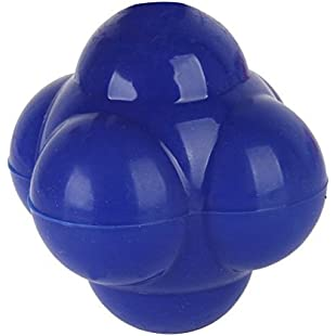 TOOGOO(R)Reaction Ball for Training Agility Coordination Reflex Exercise - Blue