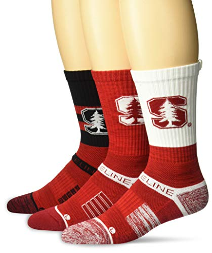 3pcs Strideline Crew Socks (Many Teams)