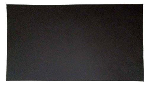 BHCSTORE Leather Patch - Adhesive Backing - Reparación Sofá, Asiento de coche, Chaquetas, Zapatos y Bolsos, 10 pulgadas por 6 pulgadas, Negro