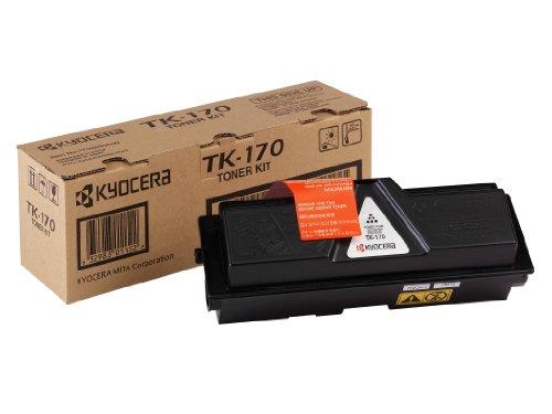 Kyocera TK-170 Original Tonerkartusche schwarz 1T02LZ0NLC, Kompatibel für FS-1320D, FS-1370DN, ECOSYS P2135d, ECOSYS P2135dn