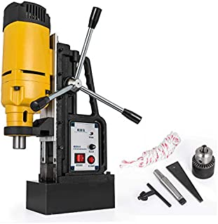 "Mophorn 1200W Magnetic Drill Press with 0.9""(23mm) Boring Diameter Magnetic Drill Press Machine 2920LBS Magnetic Force Magnetic Drilling System 500RPM Portable Electric Magnetic Drill Press"