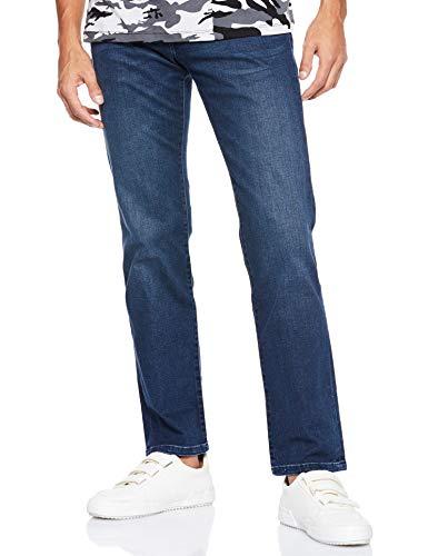 Wrangler Texas Herren Jeans, Blau (DARKSTONE, Mild blue), 44W / 36L