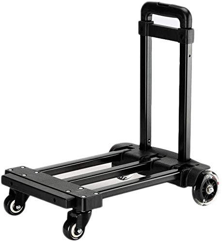 Trolleys, tragbare Einkaufswagen, Klappeinkaufswagen, Anhänger, vielseitig Gepäckwagen für schwere Lasten...