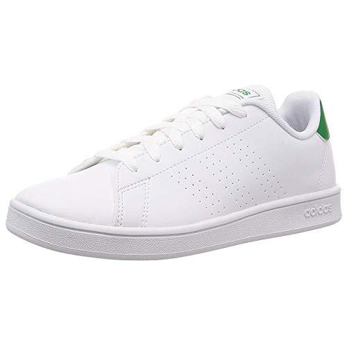 Adidas Advantage K, Soccer Shoe, Multicolor Ftwbla Verde Gridos 000, 30 EU