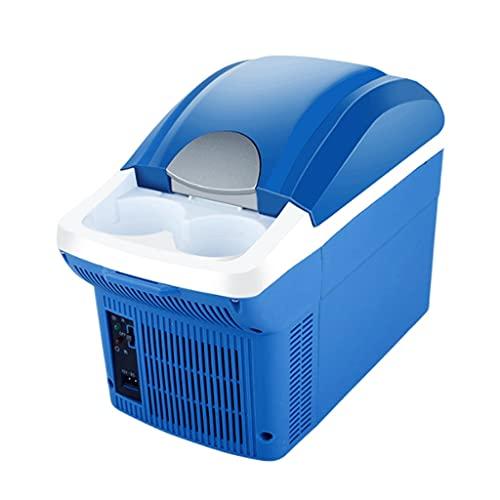 LZL Mini refrigerador Coche 8 litros Termoeléctrico portátil y más cálido para Cuidado de la Piel, Alimentos, medicamentos, hogar y Viaje