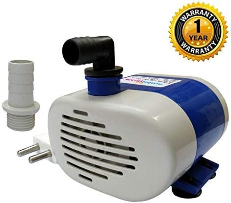 amiciTools 18 Watt Lifting 1.8 Meters Submersible Water Pump for Desert Air Cooler Aquarium Fountains with LVs Techno...