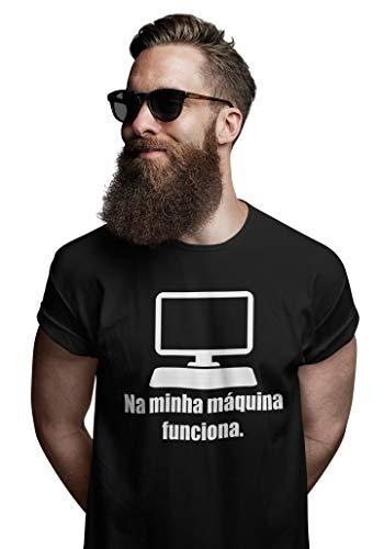 Camiseta Programador Desenvolvedor Linguagem Java Php Phyto Preta Tamanho P