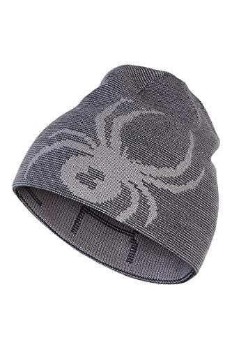 Spyder Active Sports Men's Reversible Innsbruck Hat, Alloy, One Size