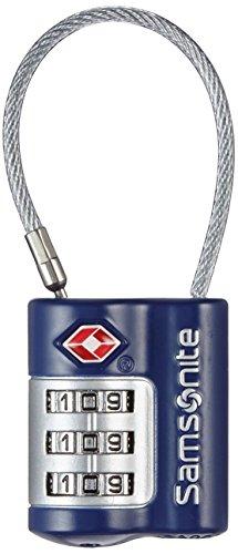 Samsonite Travel Accessories Us Air Tr3dial Cable Lock Lucchetto per Valigie, Indigo Blue, 7 cm