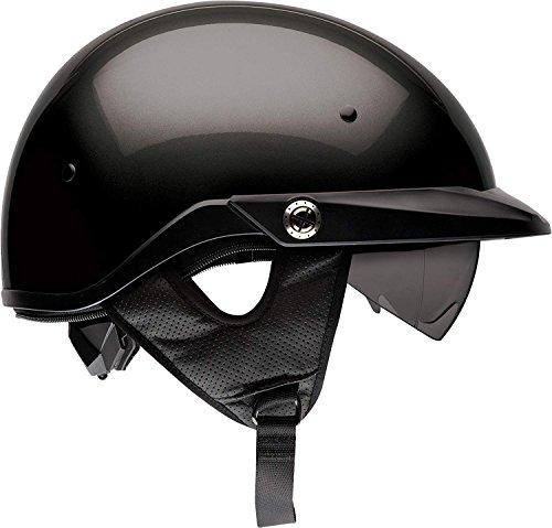 Bell Pit Boss Half Helmet (Gloss Black - Large)