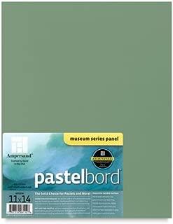 Ampersand Museum Series Pastelbord Single Sheet 16x20 - Deep Green by Ampersand