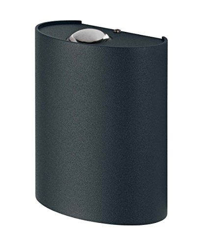 Osram Endura Style Updown Deco Applique LED per Esterni 6 W, Grigio, Single