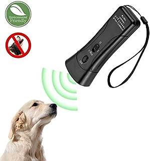 Acogedor Enhanced Ultrasonic Dog Repeller, 3 in 1 Portable Anti Barking Device,Stop Barking,Handheld Dog Training Device,LED Outdoor Bark Controller,Dog Deterrent