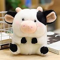 本物の野生動物のようにぬいぐるみ丸いかわいいリアルな豚チキンカウハムスター猫ぬいぐるみ子供のためのギフト男の子女の子25cm6