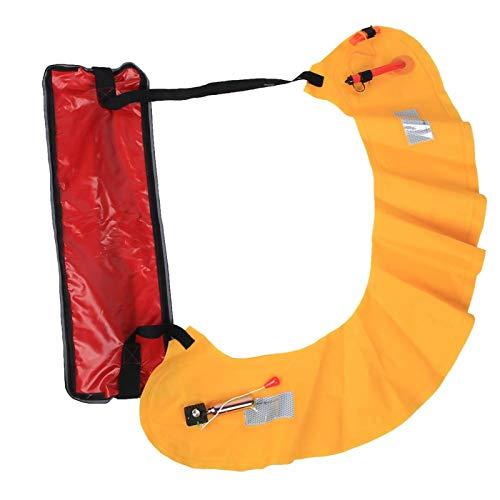 FOLOSAFENAR Cinturón Salvavidas de Nailon para visualización Nocturna, Emergencia, para Actividades al Aire Libre(Manual)