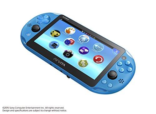 PlayStation Vita Wi-Fi model Aqua Blue (PCH-2000ZA23) Japanese Ver. Japan Import