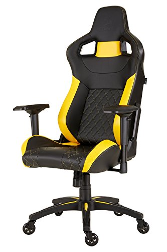 CORSAIR CF-9010015 WW T1 Gaming Chair Racing Design (Black/Yellow) - $199.99 + FS