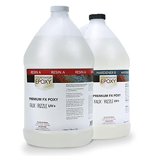 Countertop Epoxy - FX Poxy - UV Resistant Resin -...