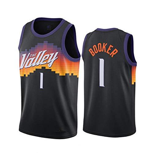 UUGG Camiseta para Hombres 1# BǒǒKer Jersey de Baloncesto, Camisa sin Mangas Camisa de Camisa de Fitness Chaleco Deportivo al Aire Libre, Gimnasia Interior Juego de balo XXL
