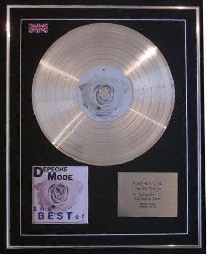 Depeche Mode – Ltd Edtn CD Platine – Best Of