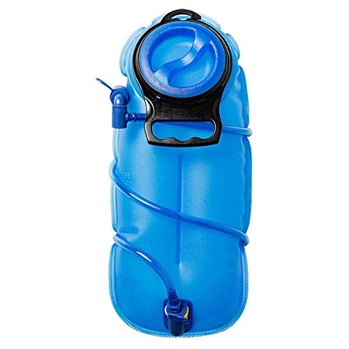 Skysep Hidratante Bolsa de Agua de Boca Grande Bolsa de Agua para Deportes al Aire Libre Bolsa de Agua para Montar en Bicicleta Bolsa de Agua Plegable Conveniente (Color : 3L)
