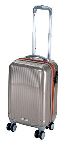 キャプテンスタッグ グレル トラベルスーツケース TSAロック付きWFタイプ S シャンパンベージュ