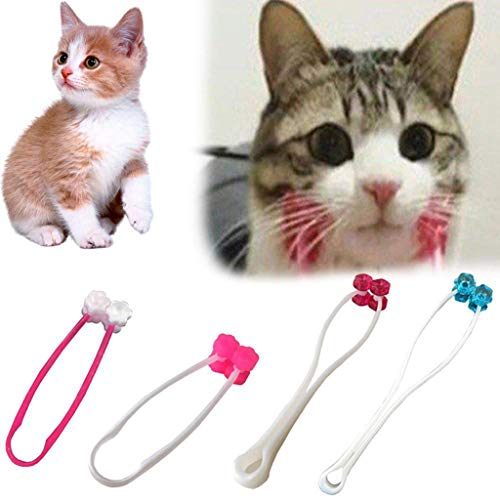 XBKPLO Cat Massage Roller Relaxer Face Massager for Kitty Pet Toy, Puppy Dog Cat Thin Face Massager Feet Legs Relief Tool Grooming Brush Tool