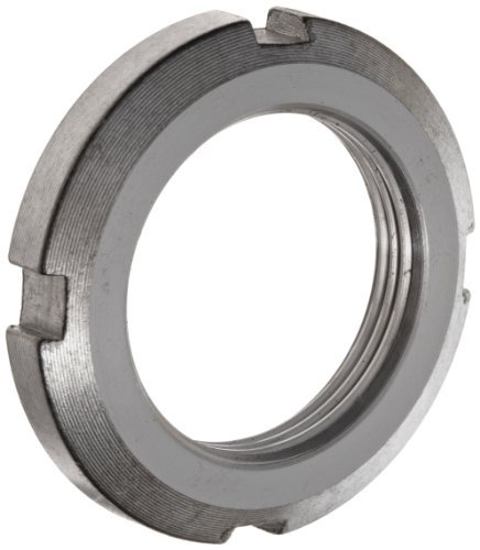 FAG KM8 Locknut, Standard, Right Hand, Metric, 40mm ID, 58mm OD, 6mm Width, 1.5mm Pitch by FAG Bearings