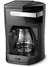 Delonghi 1.8 L Filter Coffee Maker, 900 W - Icm 30, Black