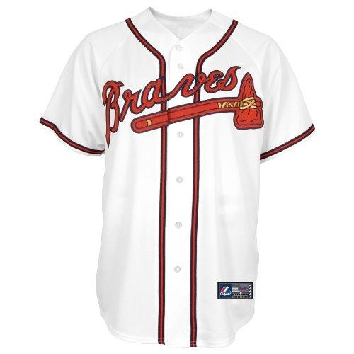 MLB Atlanta Braves Tim Hudson Weiß Home Baseball Trikot Frühling 2012 Herren, Herren, Wei, Small