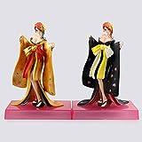 2Pcs Anime Girls Figure One Piece Kabuki Nami Kimono Ver.Figurine De Filles, Figurine d'action en PVC Modèle Jouets Poupée 20 Cm