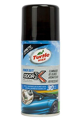 Turtle Wax TW53085 Limpiador Aire Acondicionado Aroma New Car 100 ml. Destruye los olores en Tan Solo 10 Minutos. Limpiando Desde el sitema de ventilación del vehículo, Multicolor, Auto Nuova