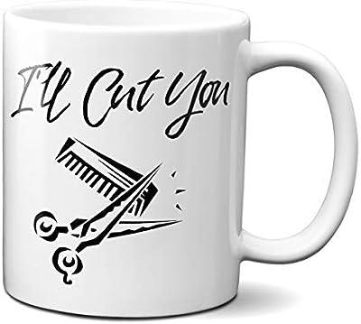 私がカットを面白いBarber Hairdresserコーヒーマグ| Gift Idea For Any Occasion |ティーカップ 11oz