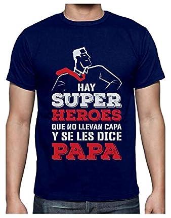 Green Turtle Camiseta para Hombre - Regalos para Hombre, Regalos para Padres Originales, Regalo Padre Divertido - Mi Papá es mi Súper Héroe
