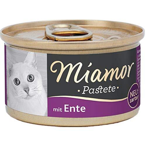 Miamor Pastete Ente 12x85g, 12er Pack (12 x 85 Grams)