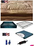 King Softside Waterbed Mattress with Bamboo Pillow Top and 95% Waveless