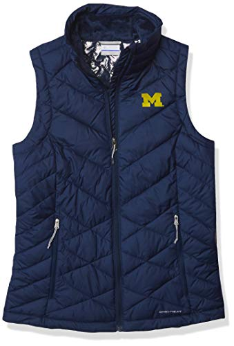 NCAA Michigan Wolverines Collegiate Heavenly Weste, Größe S, UM – Collegiate Navy