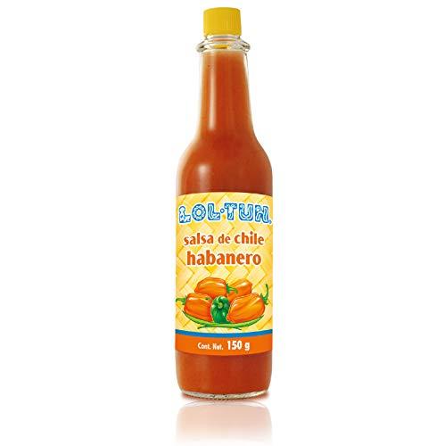 Lol-Tun Salsa de Chile Habanero Rojo, rote Habanero Sauce