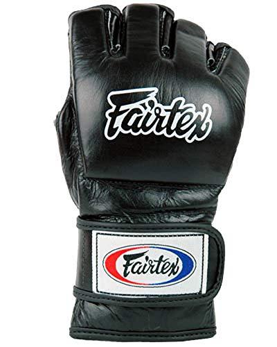 Fairtex Ultimate Combat (FGV12) - Guanti da mma], nero (nero), L