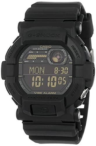 Casio G-Shock Digital Black Dial Men's Watch-GD-350-1BDR (G441)